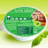 Salade de thon méditérranéenne hyperprotéinée
