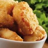 Nuggets saveur poulet hyperprotéinés