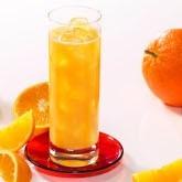Boisson orange hyperprotéinée