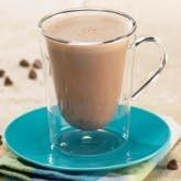 Boisson chaude chocolat hyperprotéinée