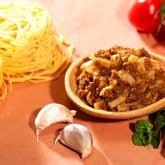 Spaghettis bolognaise hyperprotéinées