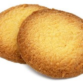 Biscuits orange hyperprotéinés