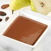 Entremet Milk-shake poire belle hélène hyperprotéiné