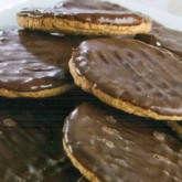 Biscuits chocolat hyperprotéinés