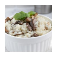 Base pour risotto fromage champignon
