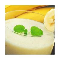entremet Milk-shake banana split hyperprotéiné